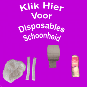 Disposables Schoonheid