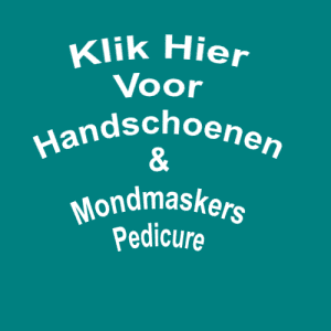 Handschoenen & Mondmaskers Pedicure