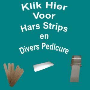 Hars Strips en Divers Pedicure