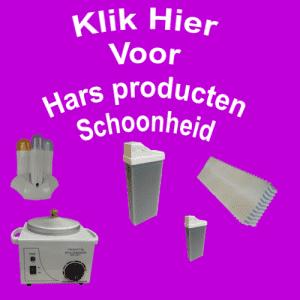 Hars producten Schoonheid