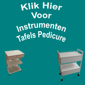 Instrumenten Tafels Pedicure