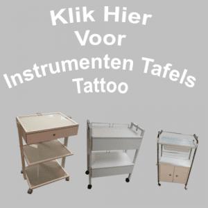 Instrumenten Tafels Tattoo