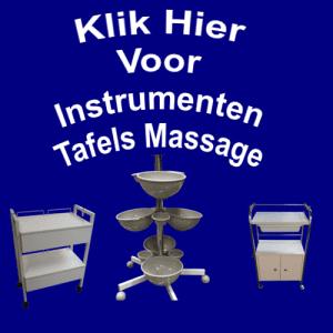 Instrumenten Tafels Massage