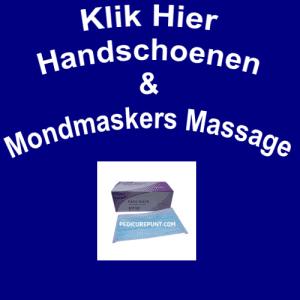 Handschoenen & Mondmaskers Massage