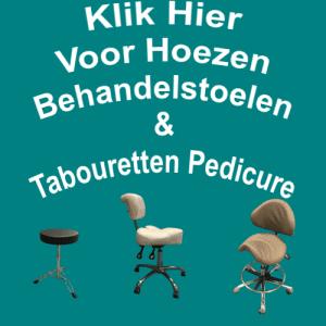 Hoezen Behandelstoelen & Tabouretten Pedicure