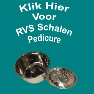 RVS Schalen Pedicure